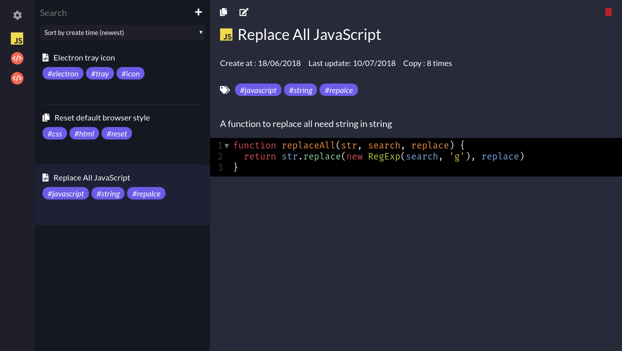 Free Javascript Snippets